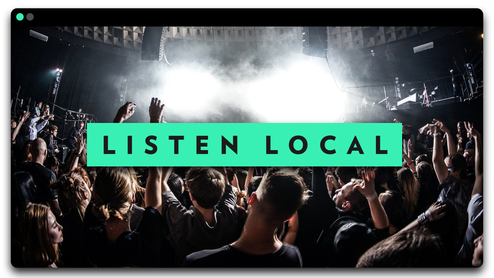 Live Music Loyalty - Listen Local